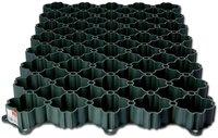 20 Stück Rasengitter 50x50x4 Paddockplatte Rasenplatte Bodengitter grün