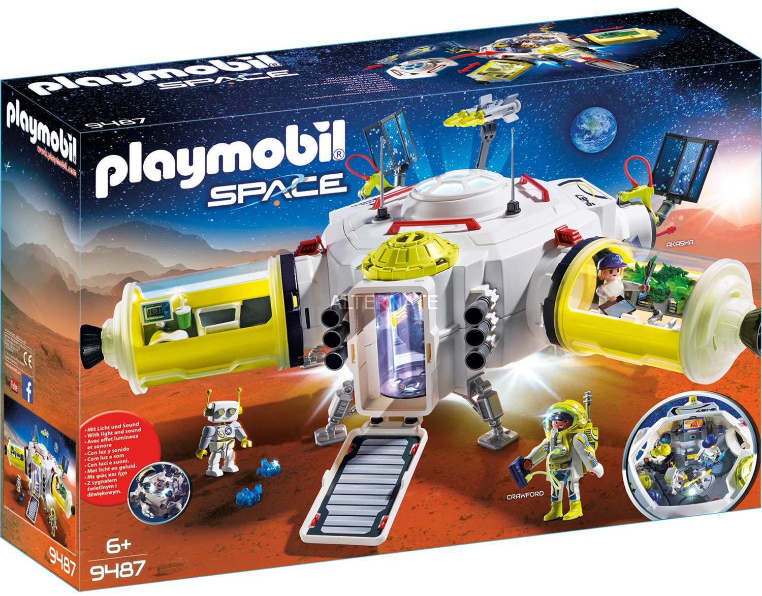 Playmobil Space Mars Station 9487