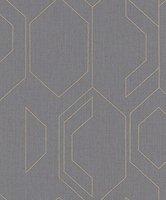 Vliestapete Barock Ornament Klassik grau Rasch Tapete Lucera 608526 2,65€//1qm