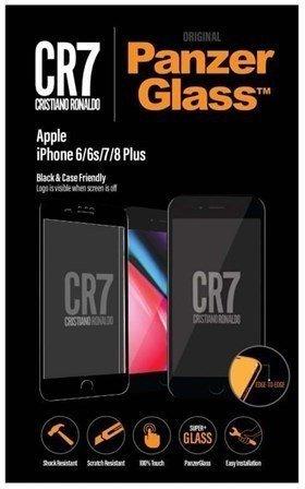 PanzerGlass CR7 Brandglass (iPhone 8 Plus/7 Plus/6s Plus/6 Plus) schwarz