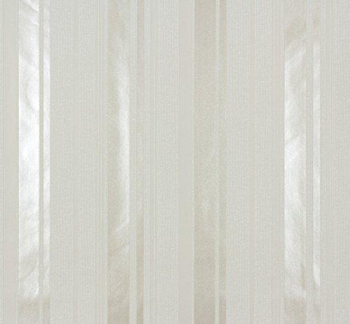 Marburg Tapeten Ornamental Home Streifen grau-beige (55239)
