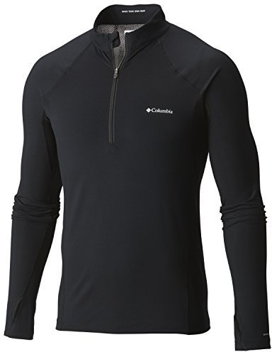 E-Commerce Live Midweight Stretch Long Sleeve Half Zip