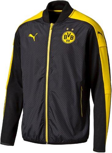 BVB-Kapuzensweatjacke mit Logo Borussia Dortmund M schwarz