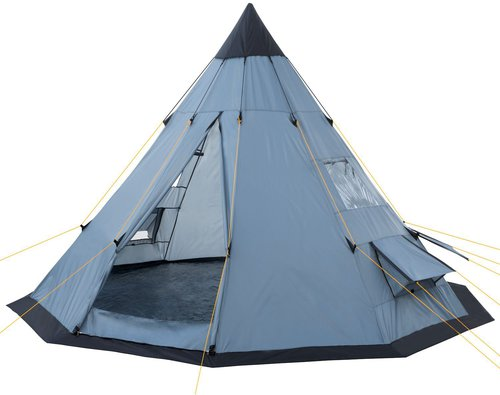 CampFeuer Indian Tent (Teepee, grey)