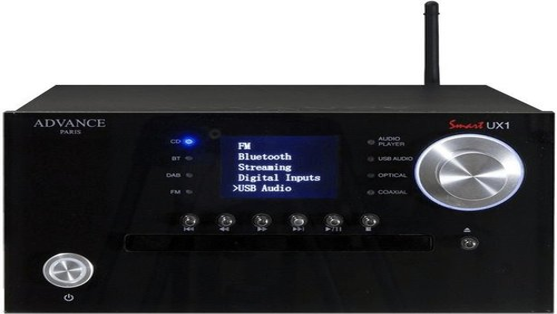 Advance Acoustic UX 1 Netzwerk Streamer schwarz