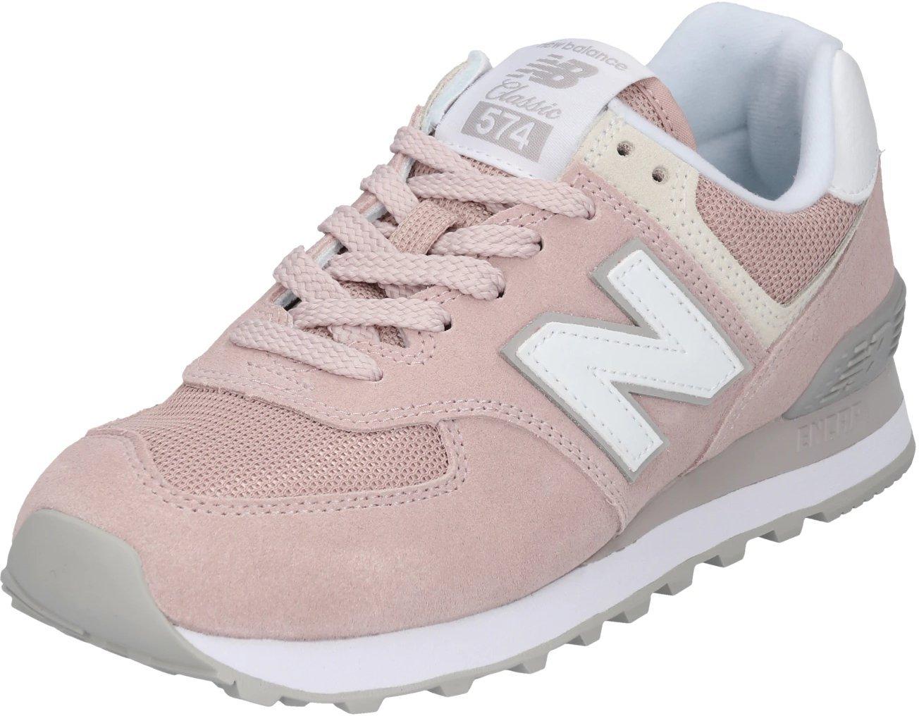 New Balance WL574 pinkwhite