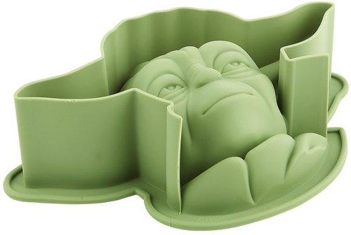 Pangea Brands Yoda Silikonbackform grün