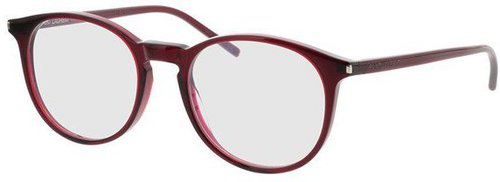Yves Saint Laurent SL106 006 (transparent burgundy)