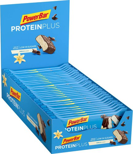 PowerBar Protein Plus Low Sugar Riegel Vanilla 35g