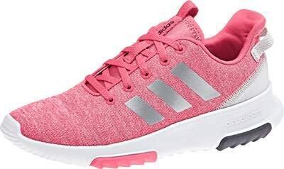 Adidas Neo Cloudfoam Racer TR K pinksilverwhite