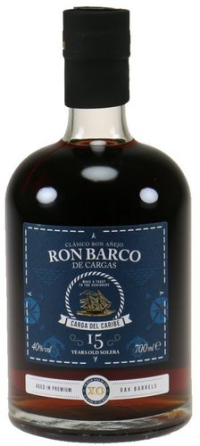 Ron Barco de Cargas 15 Years 0,7l 40%