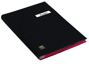 Elba Signature Folder A4 Black
