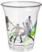 Papstar Kunststoff-Trinkbecher Football 0,3 l