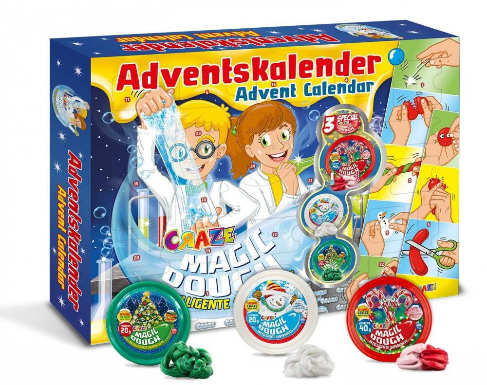 Toys R Us Weihnachtskalender.Craze 15049 Magic Dough 2018