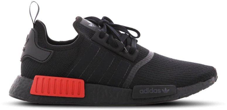 Adidas NMD_R1 core Blackcore blacklush red