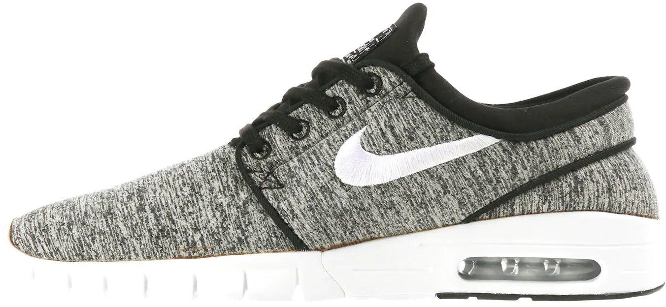 Nike Stefan Janoski Max White Black aktion