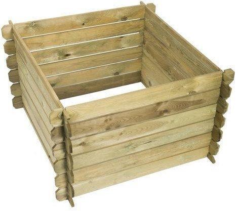 Naturè Kompostbehälter Holz 650 Liter