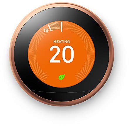 Nest Smarthome Learning Thermostat 3. Generation (kupfer)