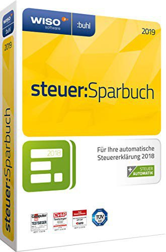 Buhl Data WISO steuer:Sparbuch 2019 (Box)