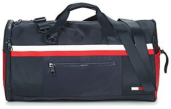 TOMMY HILFIGER Tommy Nylon Duffle Sporttasche Tasche Tommy Navy Blau Weiß Neu Kleding en accessoires