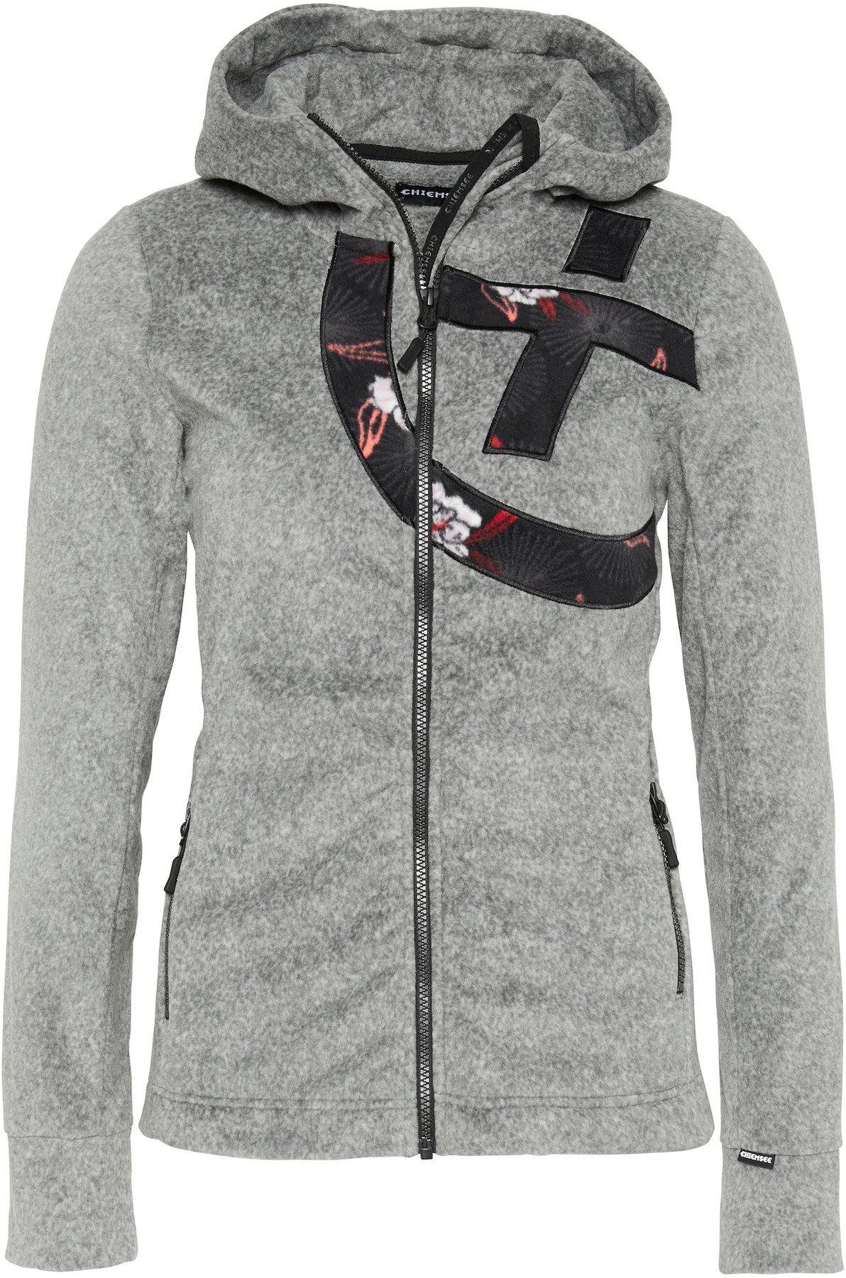 chiemsee fleece jacke damen