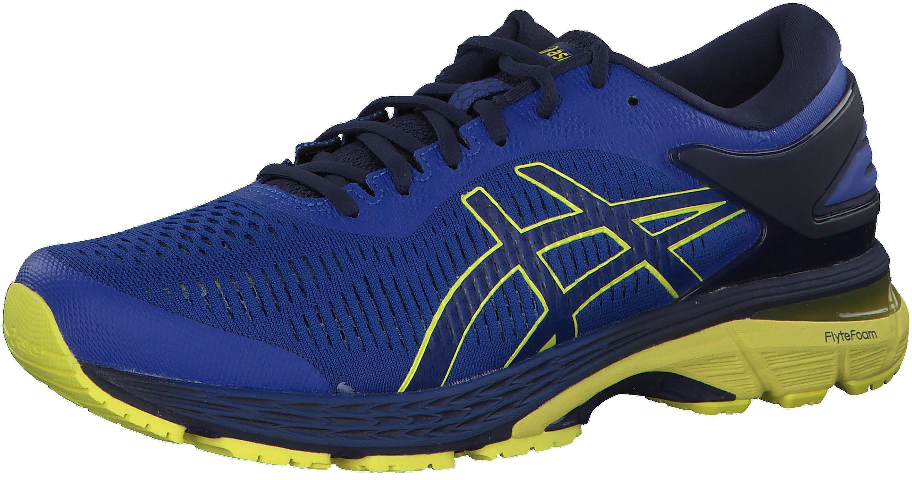 Asics Gel Kayano 25 blue ab 109,90 </p>                     					</div>                     <!--bof Product URL -->                                         <!--eof Product URL -->                     <!--bof Quantity Discounts table -->                                         <!--eof Quantity Discounts table -->                 </div>                             </div>         </div>     </div>     