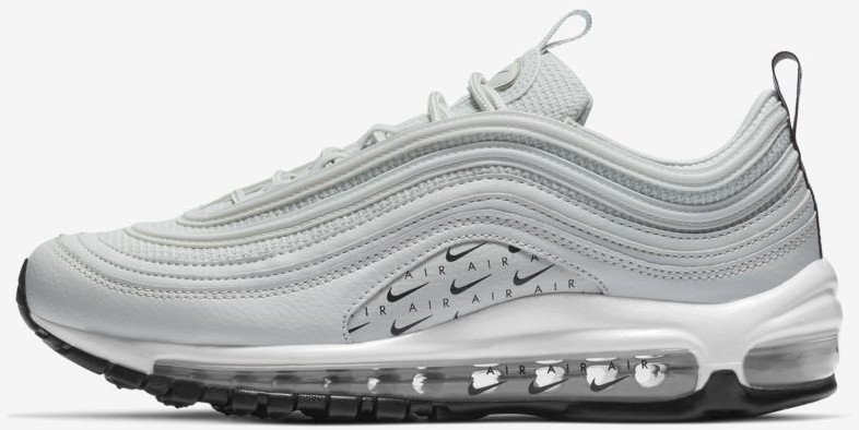 newest 8f5f6 2f655 Nike Air Max 97 LX Overbranded light silver/black/white/light silver