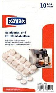 Xavax Entfettertabletten für Kaffeeautomaten