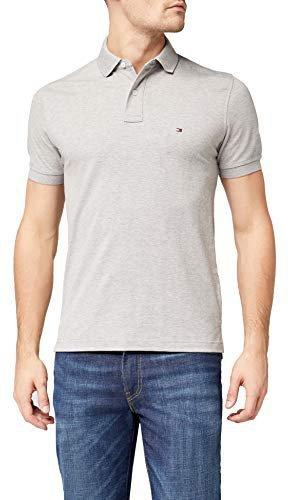 Tommy Hilfiger Core Polo Shirt grey heather