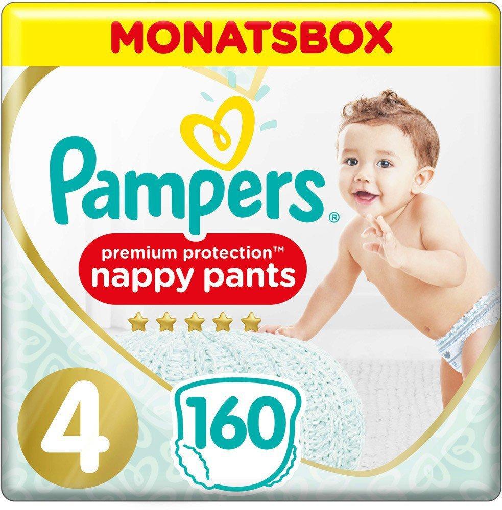 160 Stück Windeln Pampers Baby Dry Pants Gr.4 Maxi 9-15kg MonatsBox