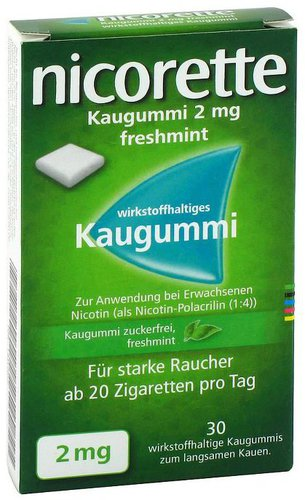 Eurim nicorette Kaugummi 2 mg freshmint (105 Stk.)