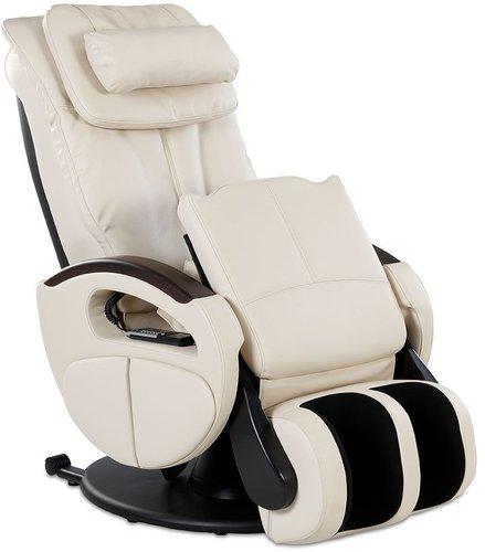 Aktivshop Massagesessel Komfort Deluxe Stoff creme