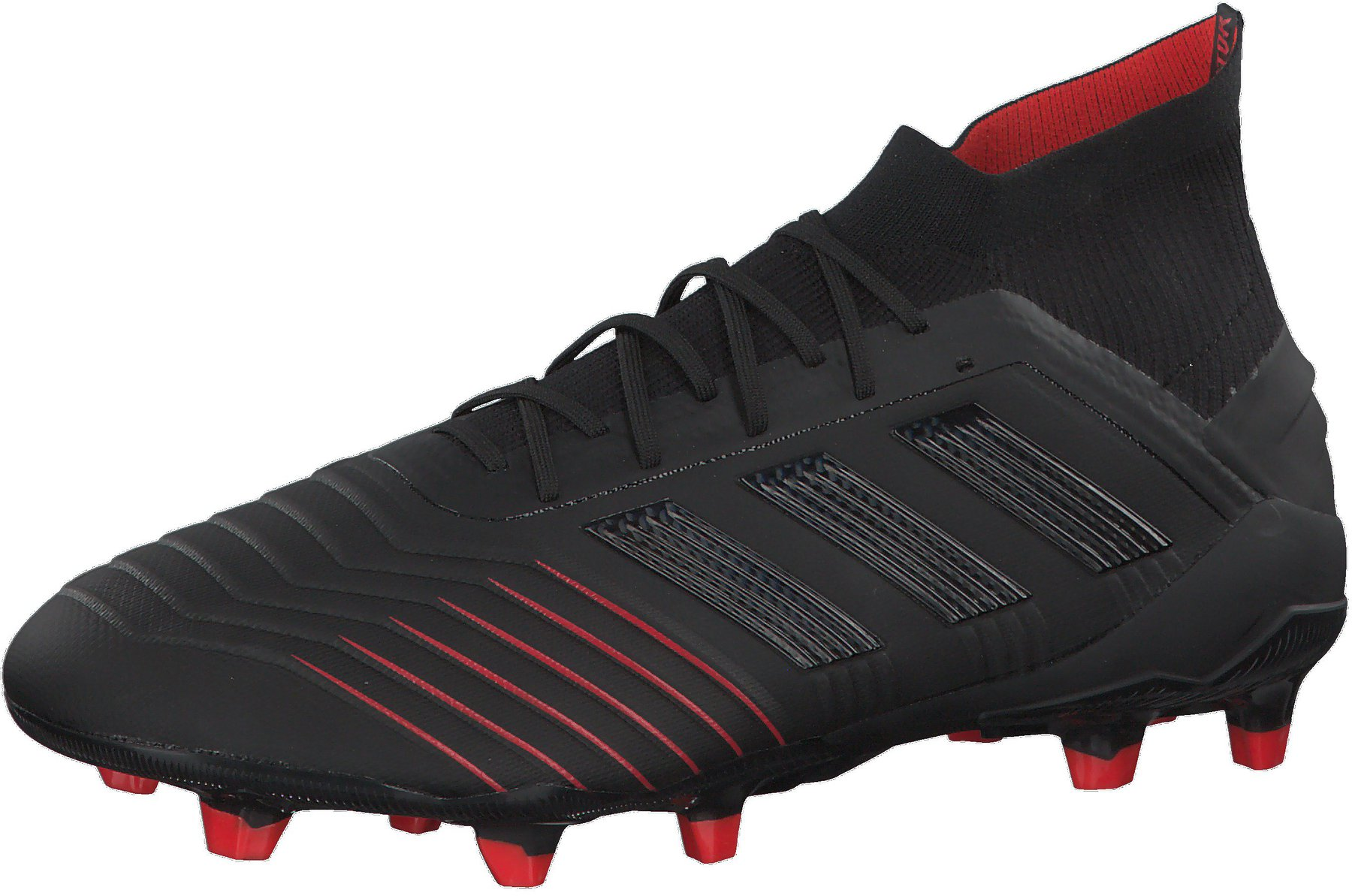 Adidas Predator 19.1 FG Men Core Black Core Black Active Red