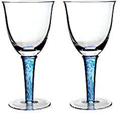 Denby  Imperial Blue White Wine Glass (Set of 2)