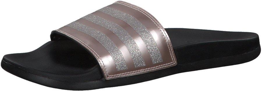 Adidas Adilette Cloudfoam Plus Explorer Slides W vapour grey  metallic/vapour grey metallic/core black