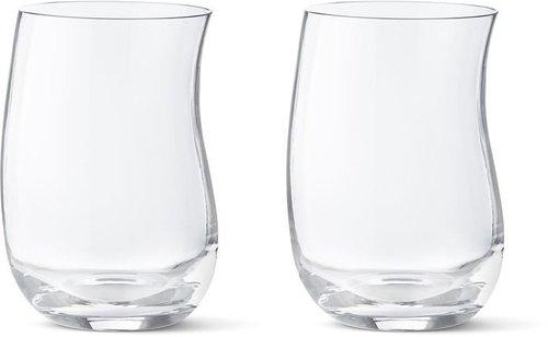 Georg Jensen Cobra Drinking Glass 350ml (Set of 2)
