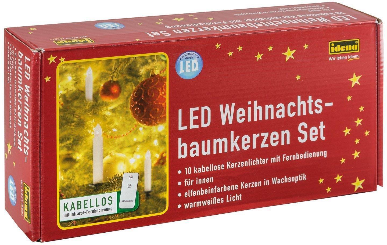 Led Weihnachtsbeleuchtung Kabellos.Kabellose Weihnachtsbaumkerzen