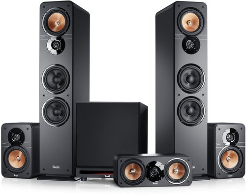 Teufel Ultima 40 Surround Power Edition 5.1-Set schwarz