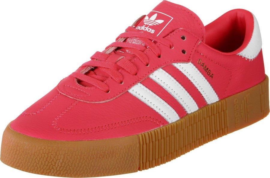 Adidas Sambarose W shock redftwr whitegum2