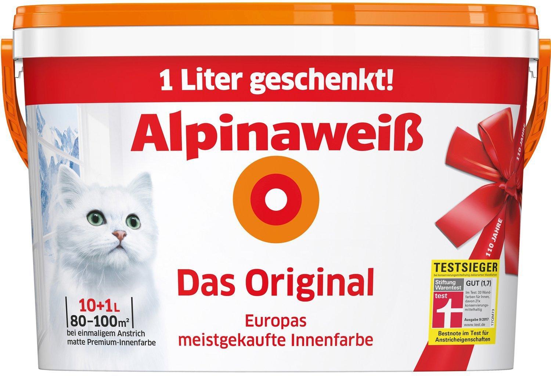Alpina Farben Alpinaweiß 11 l