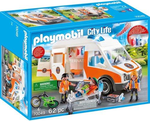 Playmobil 70049 City Life Rettungswagen