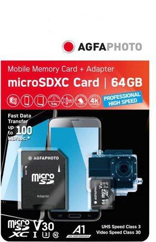 AgfaPhoto Mobile A1 microSDXC 64GB