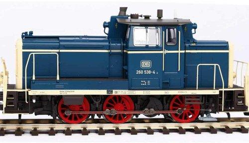 Piko Sound-Diesellok BR 260 Wechselstromversion, inkl. PIKO Sound-Decoder (55901)