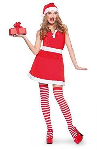 78bd57589c591 Weihnachtsfrau Kostüm