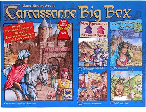 Schmidt Spiele Carcassonne Big Box