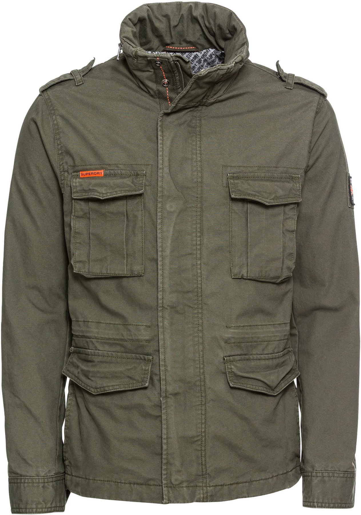 Superdry Classic Rookie Military Jacket forest night (M50000NR TDF)