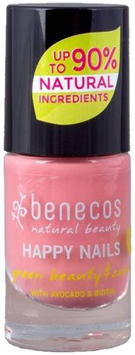 benecos Happy Nails Nail Polish Bubble Gum (5ml)