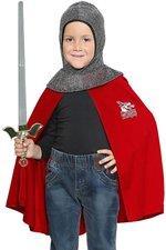 Kinder Kostüm Ritter Sigurd Überwurf Kinderparty Ritterkostüm