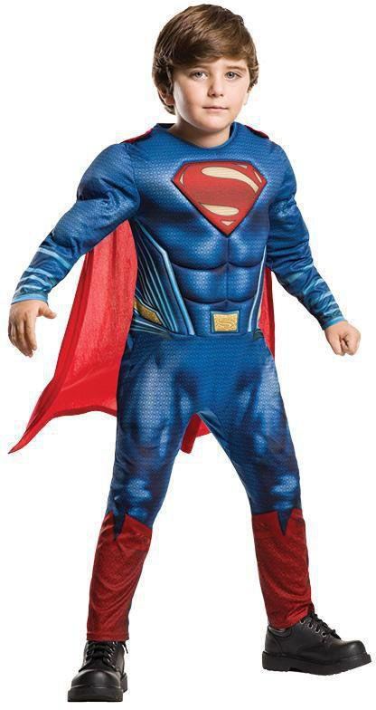 Baby Jungen Superhelden Superman Mädchen Kinder Strampler Overall Romper Kostüm