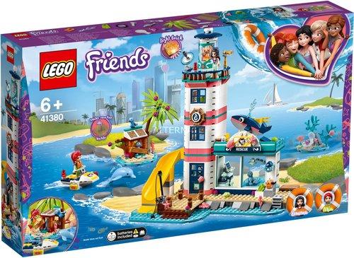 LEGO Friends - Leuchtturm mit Flutlicht (41380)